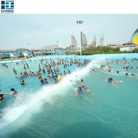 Outdoor Wave Pool Machine Swimming Pool With Wave Water Game