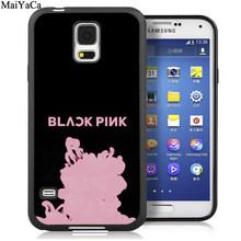 MaiYaCa черный розовый KPOP K-POP для девочек группа телефонные чехлы для samsung Galaxy S5 S6 S7 edge S8 S9 S10 Plus Lite Note 9 5 8 чехол(Китай)