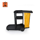 House Maid Plastic Hotel Serving Trolleys Housekeeping Trolley Janitorial Cart Cleaning Trolley