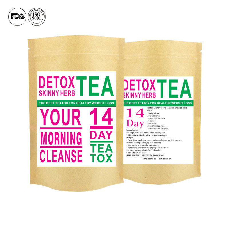 14 Days Slimming Detox Beauty-slimming Tea Weight Loss Tea - 4uTea | 4uTea.com
