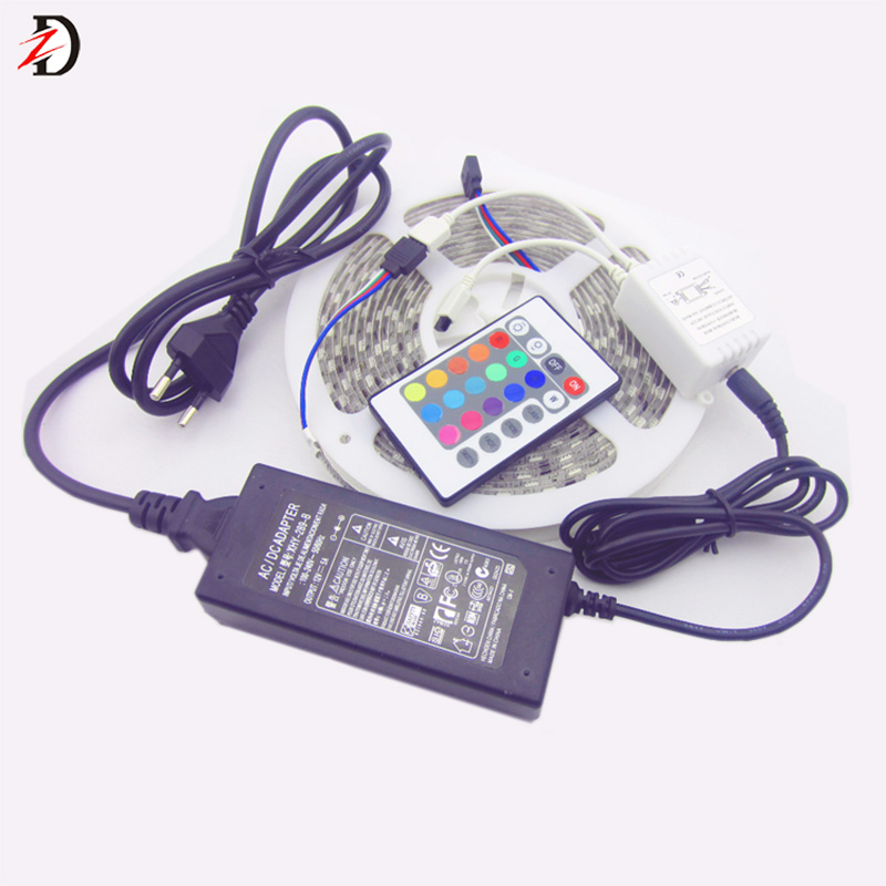 Shenzhen Home Decoration 5050 RGB LED Strip Light with Power Supply