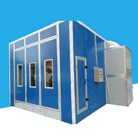Hot sales outdoor used car paint spray booth paint cabin for car