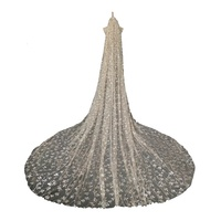Professional standard Factory Wholesale High Quality Tulle Champagne Veil