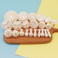 22 pcs new DIY reposteria fondant cake supplies decorating moulds cutter tool set