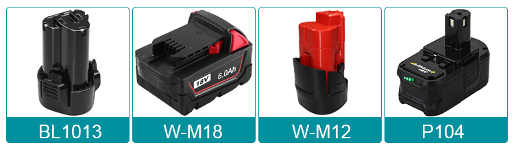 18V cordless power tool battery 18V cordless drill battery for replacing BL1830 series from Shenzhen OEM factory