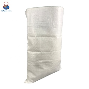 China factory 50kg PP woven pet food bag
