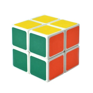 intelligence puzzle anti stress game 5cm magical 2x2 speed cube with OEM