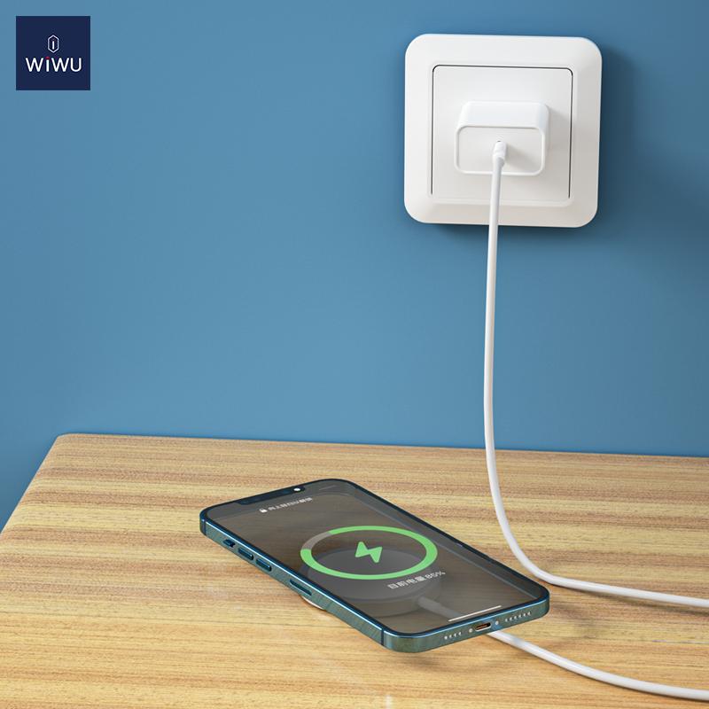 WiWU iPhone12磁吸附 无线充 (https://www.wiwu.net.cn/) 无线充电器 第3张