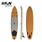 Hot Selling Inflatable Wooden SUP Stand up Paddle Board Kits Rentals