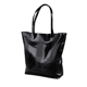 2019 Custom Fashion Black Women Shoulder Tote PU Leather Ladies Hand Bag