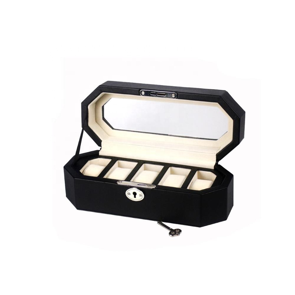 Personalized new design competitive price leather watch box watch travel box
