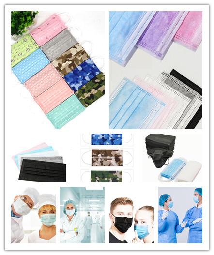 3ply Geweven Wegwerp Gezichtsmasker Voor Medische Industrie