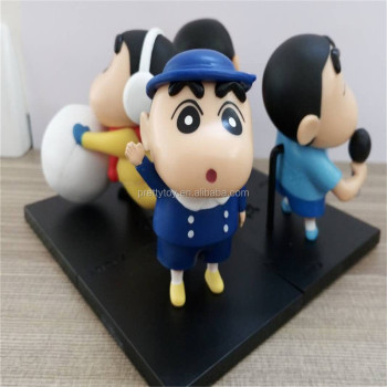 Custom Vinyl Figure 3D Models toys mini Crayon Shin-chan Figurines