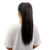 claw clip 24Inch Woman Synthetic Hair Ponytail 60CM Long Brown Straight Hair Extension