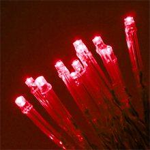 100 светодиодов, 12 м, зеленые гирлянды, сказочные огни, 8 режимов, вечерние, рождественские, садовые, свадебные украшения на День святого Вален...(Китай)