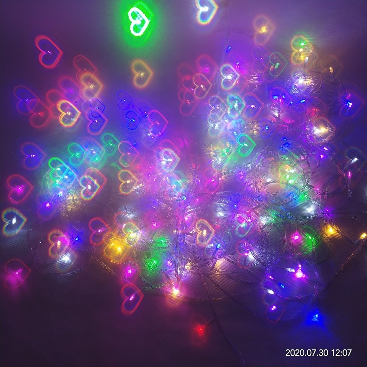 2020 new design Customized Printed Paper 3D Firework Diffraction Glasses