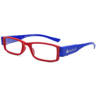 Rechargeable plastic led reading glasses with Light