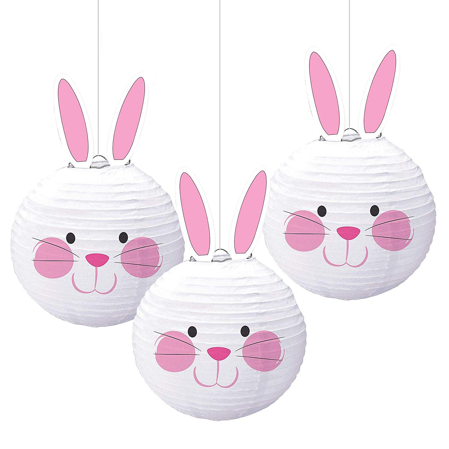 Colored chinese new year paper lanterns lamp hanging decoration for holiday