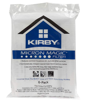 Hot Selling Kirby Part#204808 / 204811 - Genuine Kirby Style F HEPA Filtration Vacuum Bags for Sentria Models