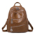 EBP060 Guangzhou wholesale casual women back pack brown classic backpack