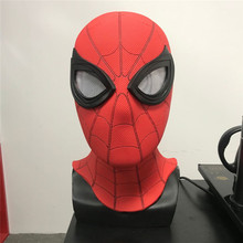 2019 spot divertido <span class=keywords><strong>halloween</strong></span> super hero spiderman cosplay máscaras chapelaria para festas festival