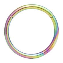 Гипоаллергенные кольца для носа, 20 г, 18 г, 16 г, 14 г, 12 г, 10 г, 8 г, 316l, хирургическое кольцо с шарнирным сегментом, пирсинг, ювелирные изделия, серь...(China)