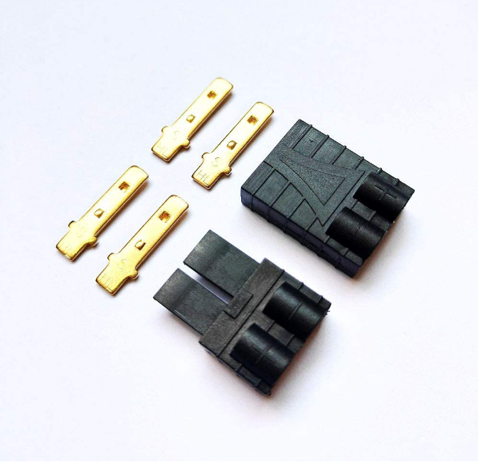 FLY RC 10 Pairs Traxxas TRX Plugs Lipo NiMh Brushless High-Current Connector ESC Battery RC Connector 10 Pairs
