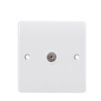 Electric TV socket outlet in wall made in China factory