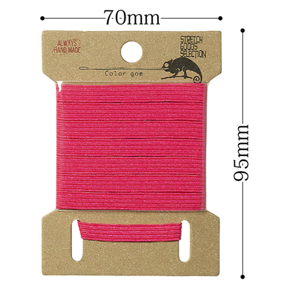 Japanese extended soft round elastic cord for handmade accessories