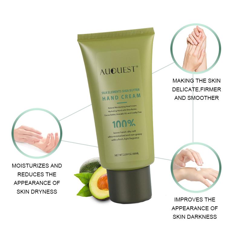 Creme Para As Mãos de Manteiga de Karité biológica Forte Economia de Amaciar A Pele Whitening Hidratante Nutritivo Super Pele Seca Loção de Mão