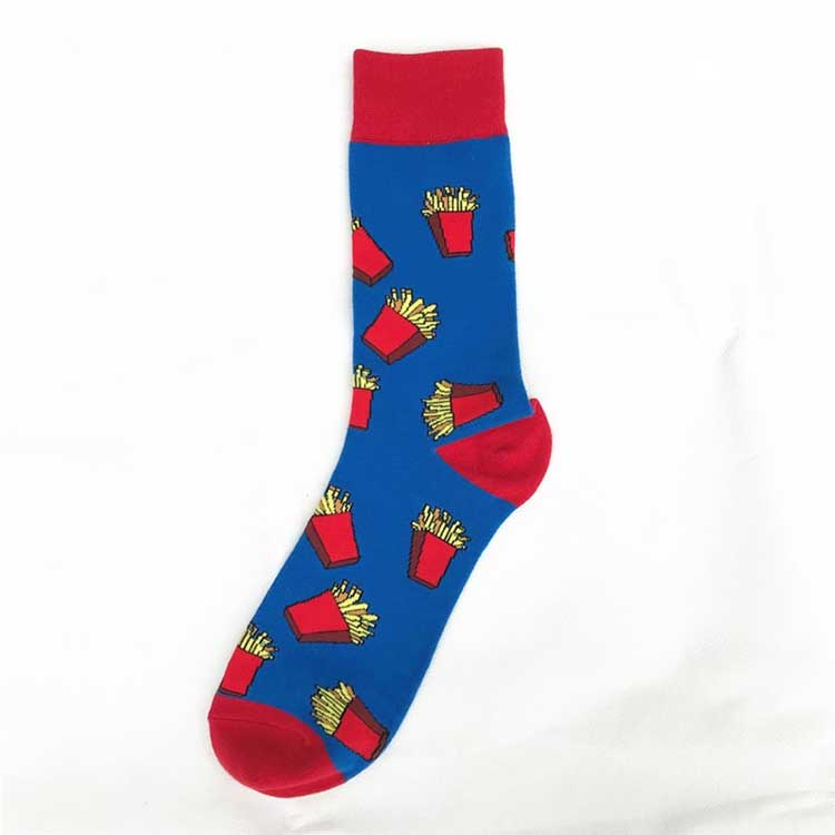 Wholesale funny crazy socks novelty casual cotton cool funky colorful party socks