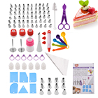Baking Tools Wholesale Baking Accessories 100 PCS Stainless Steel Cake Decorative Tools Kit