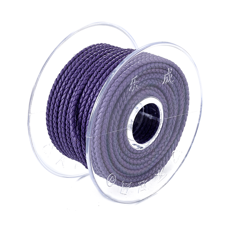 3/4/5/6/7mm personalized charming leather cord string rope