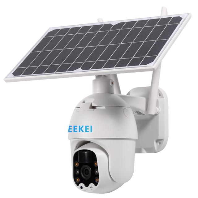 ใหม่รุ่นSolar Wifi Ipกล้องพลังงานแสงอาทิตย์สำหรับกล้องWifiพลังงานแสงอาทิตย์กล้องสีNight Vision Hotขาย