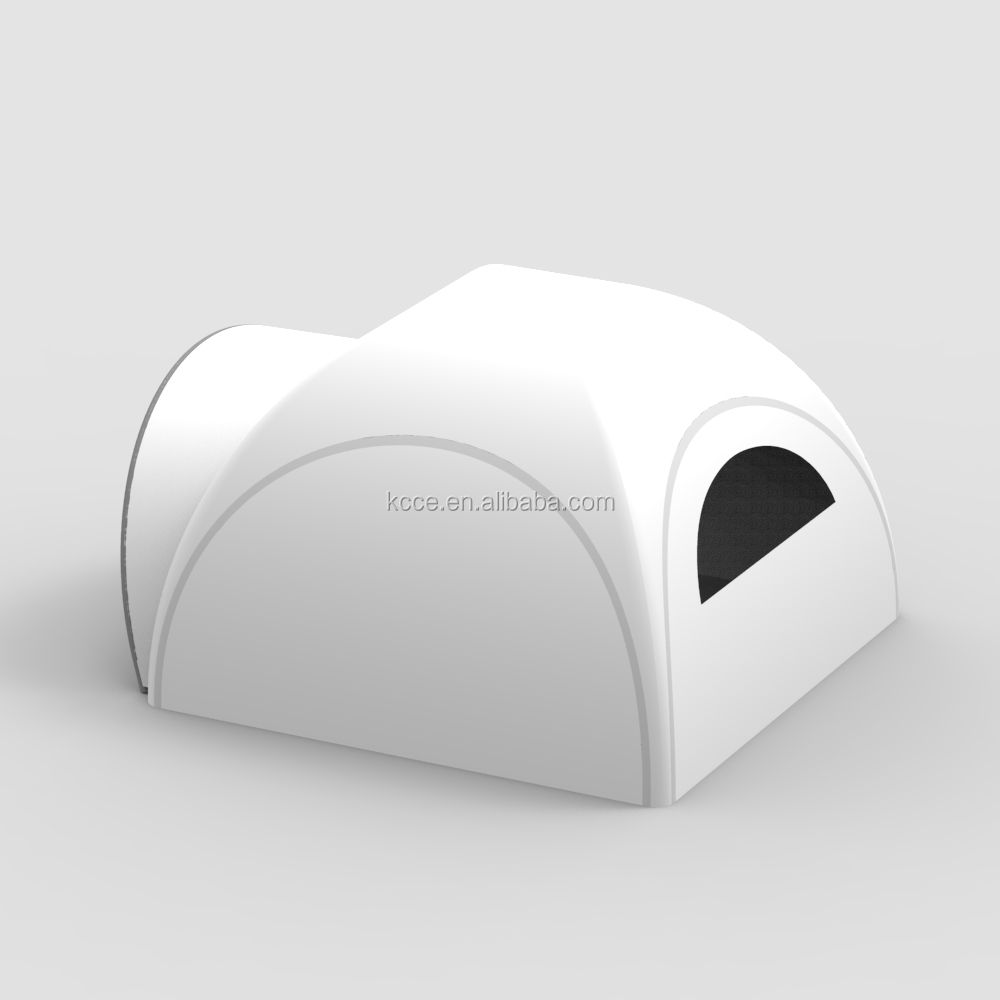KCCE 6x6m oxford TPU double layers Inflatable Canopy awning tent, Pneumatic Inflatable Tents//