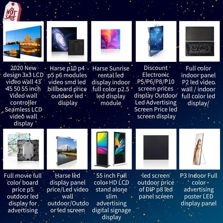 Harga rendah digital Luar P10 DIPIMPIN layar iklan komersial