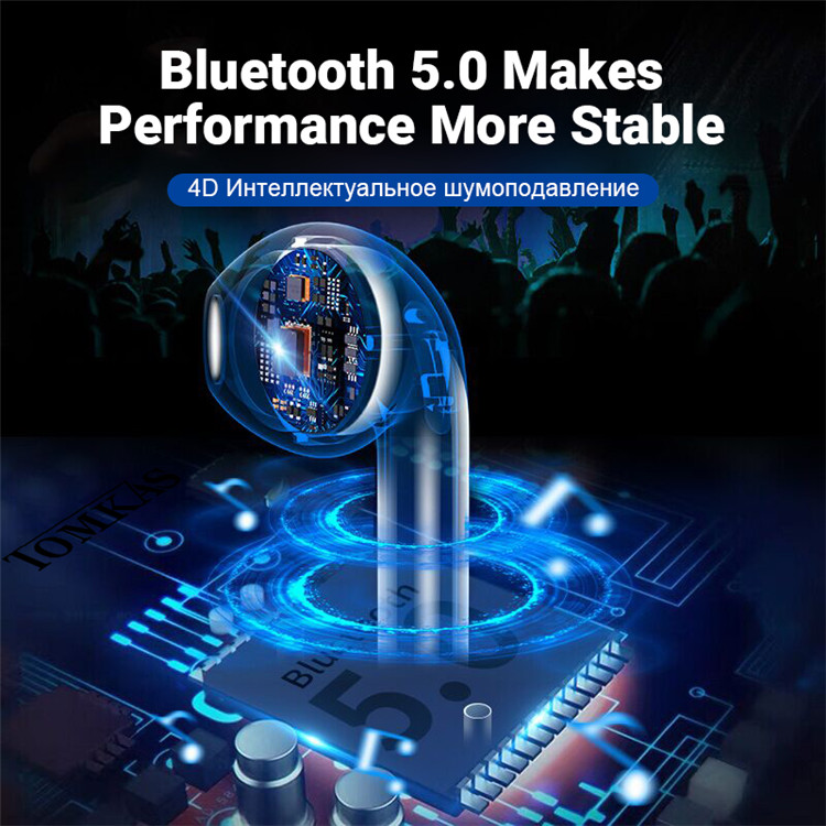 i100 TWS Bluetooth 5.0 Earphones touch earbuds For all smartphone support Wireless Charging PK i20 i30 i60 tws i80 i90 i200 tws