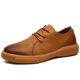 New design comfortable casual dress outdoor genuine leather shoes for men
