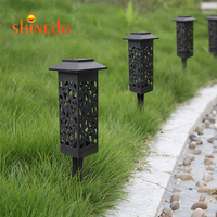 Outdoor Waterproof Solar Garden Lawn Lamps For Landscape Path Yard Patio Walkway Lawn, Solar Led Solar Pathway Lights