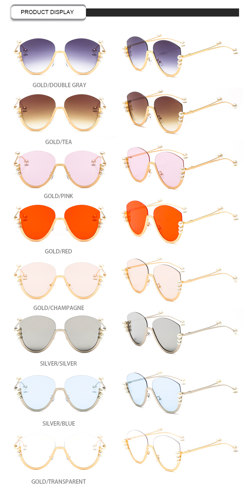 Fuqian gold rim sunglasses for womens ask online for sport-13