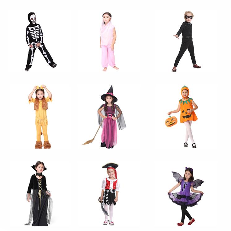 PoeticExst ハロウィン子供漫画コスチュームファンシードレス子供かわいいコスプレ衣装