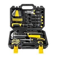 Home Owner 40-Piece Complete Suitcase Tool Box with Tools Set