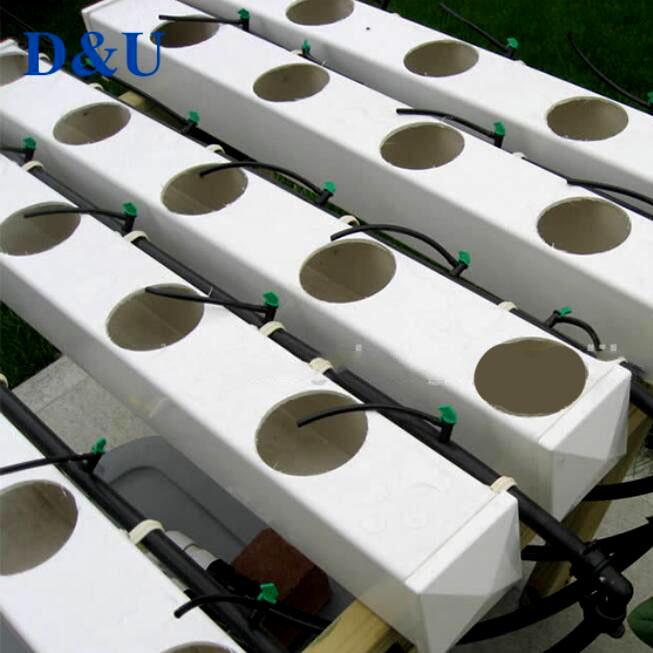 Angepasst Größen Hydrokultur Rohr Quadrat Hydrokultur PVC Rohr