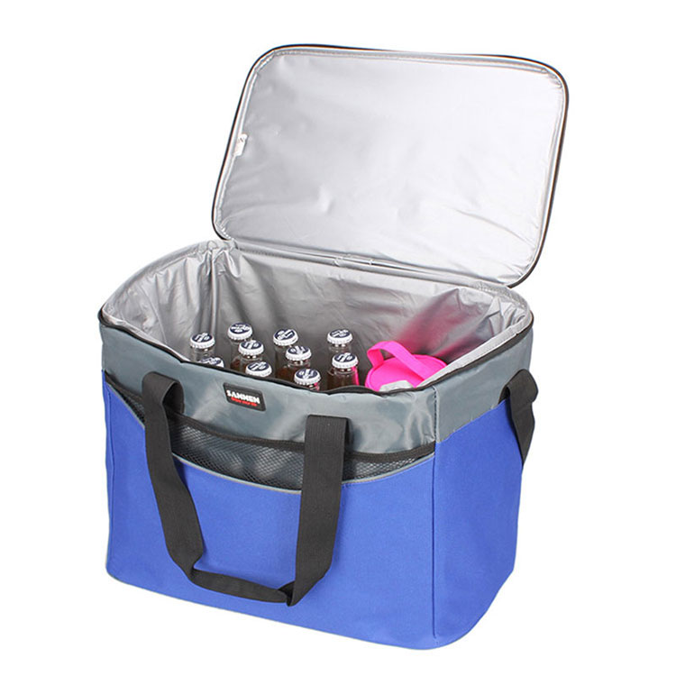 waterproof aluminum foil Custom printed Portable promotional reusable Insulated Cooler Bag