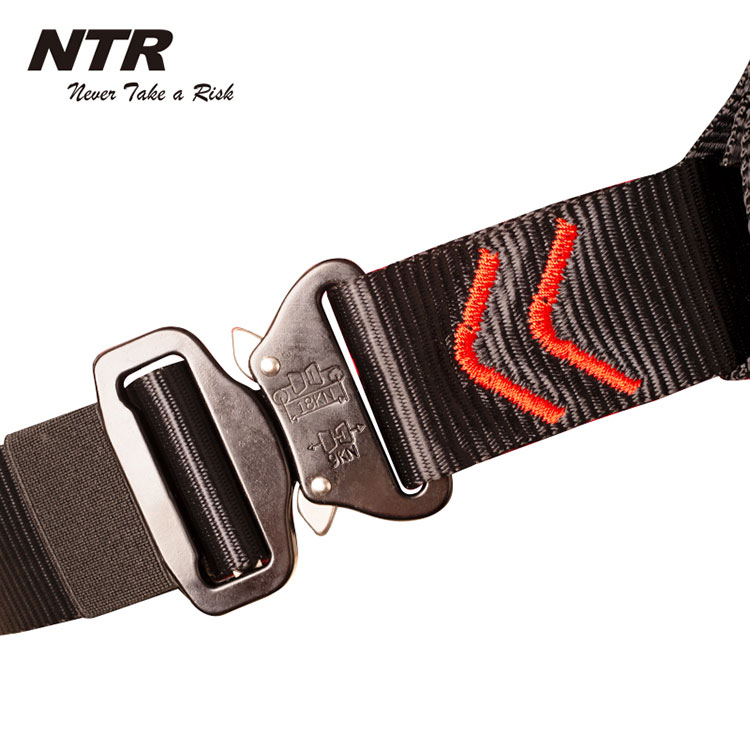 rescue full body safety harness rope access climbing belt for fall protection