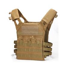 Тактический жилет, военная экипировка, армейский охотничий жилет, уличный Пейнтбол, CS war game, Воздушный пистолет, камуфляжный боевой жилет(Китай)