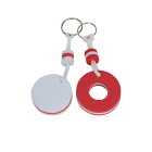 cheap advertising gifts customized shape promotional items with logo Foam keyring / floating keyring / custom EVA keychain