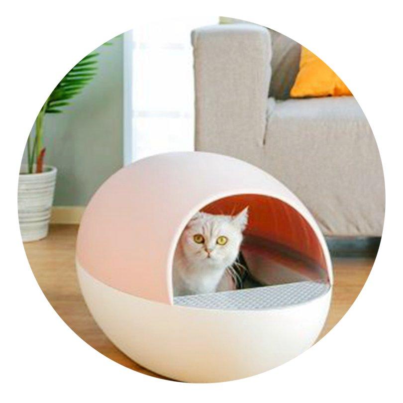 Groothandel Intelligente Kattenbakvulling Wc Petree Elektrische Automatische Zelfreinigende Luxe Kattenbak