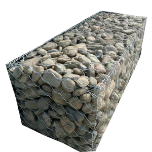Galvanized stainless steel water conservancy engineering gabion basket