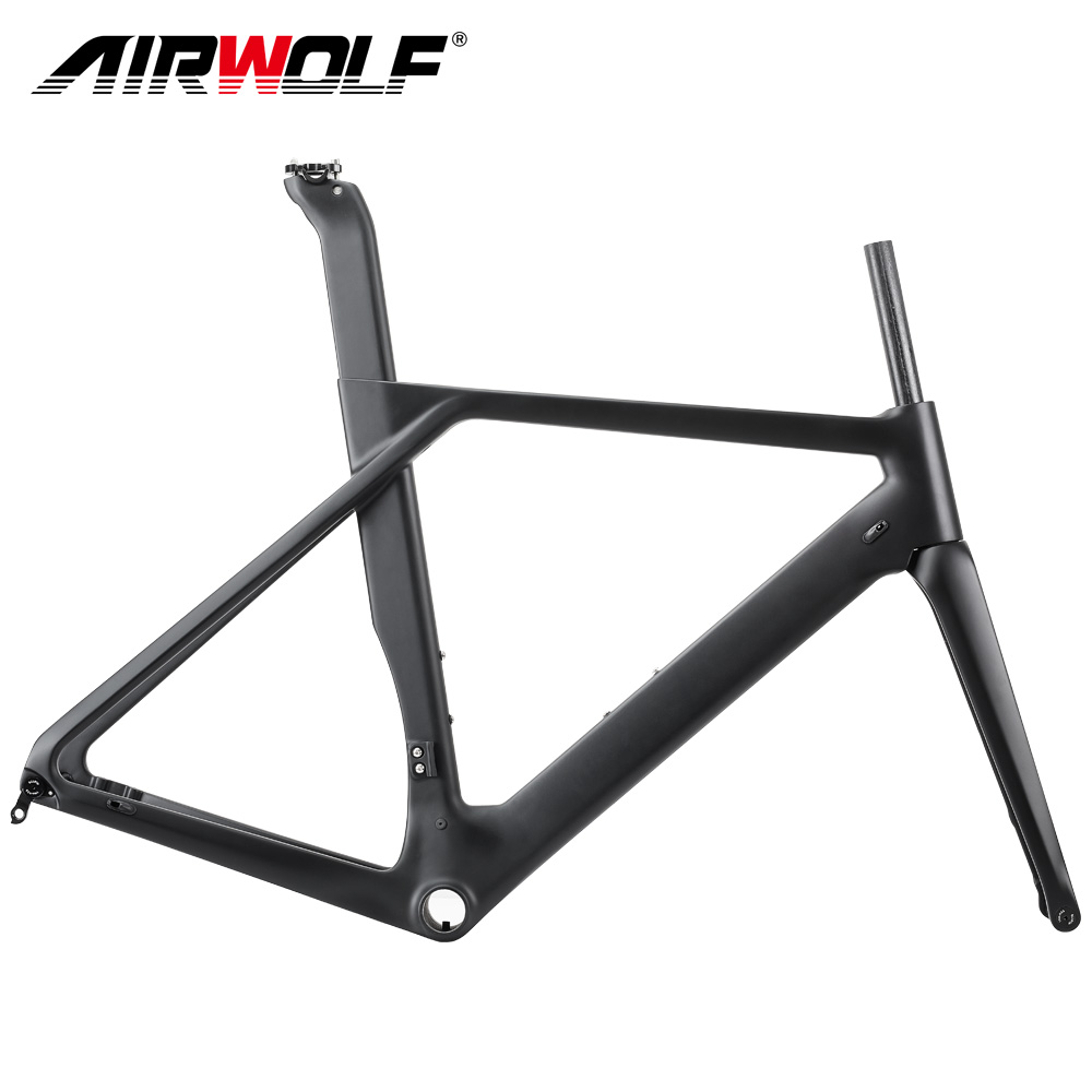 2019 New <strong>carbon</strong> <strong>road</strong> bike <strong>frame</strong> with disk rotor 140/160mm <strong>carbon</strong> <strong>frame</strong> disc
